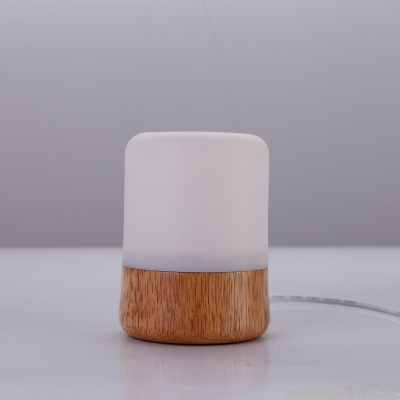 WL19 Wooden table lamp with remote